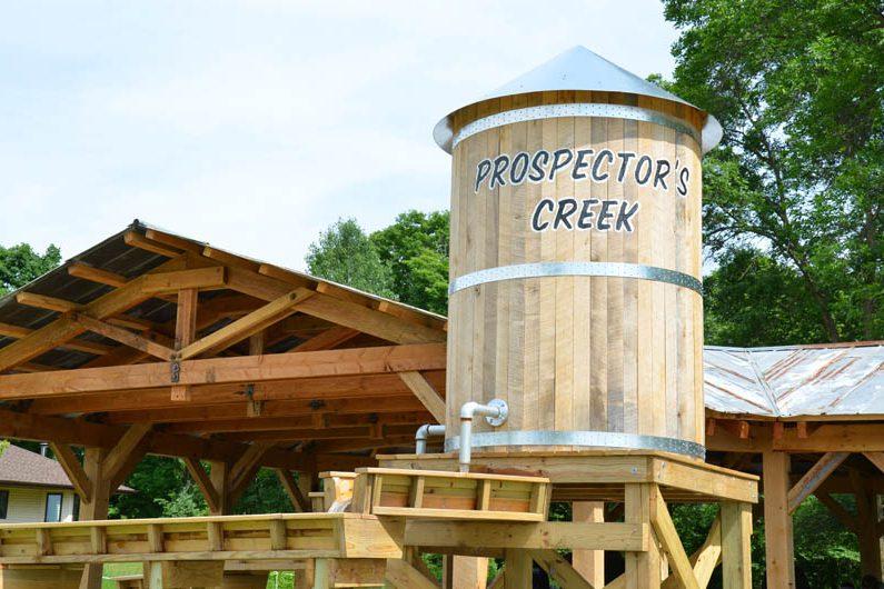 Prospector Creek Water Tank Photo