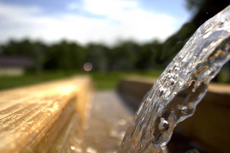Prospector Creek Water closeup photo