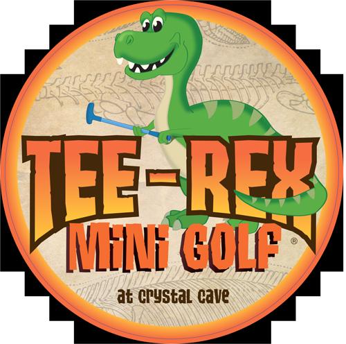 Tee-Rex Mini Golf Logo
