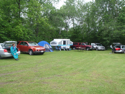 Photo of Group Camp area
